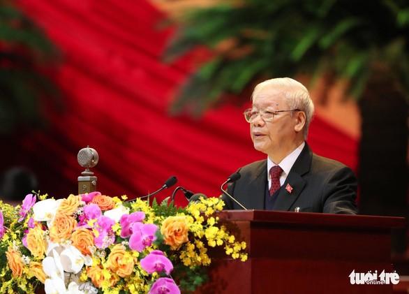 Báo cáo về các văn kiện trình Đại hội XIII của Đảng